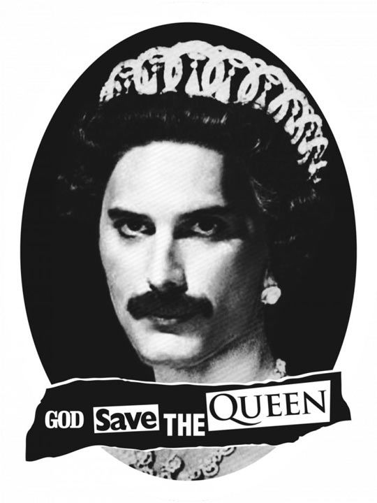 God save the true Queen // funny pictures - funny photos - funny images - funny pics - funny quotes - #lol #humor #funnypictures