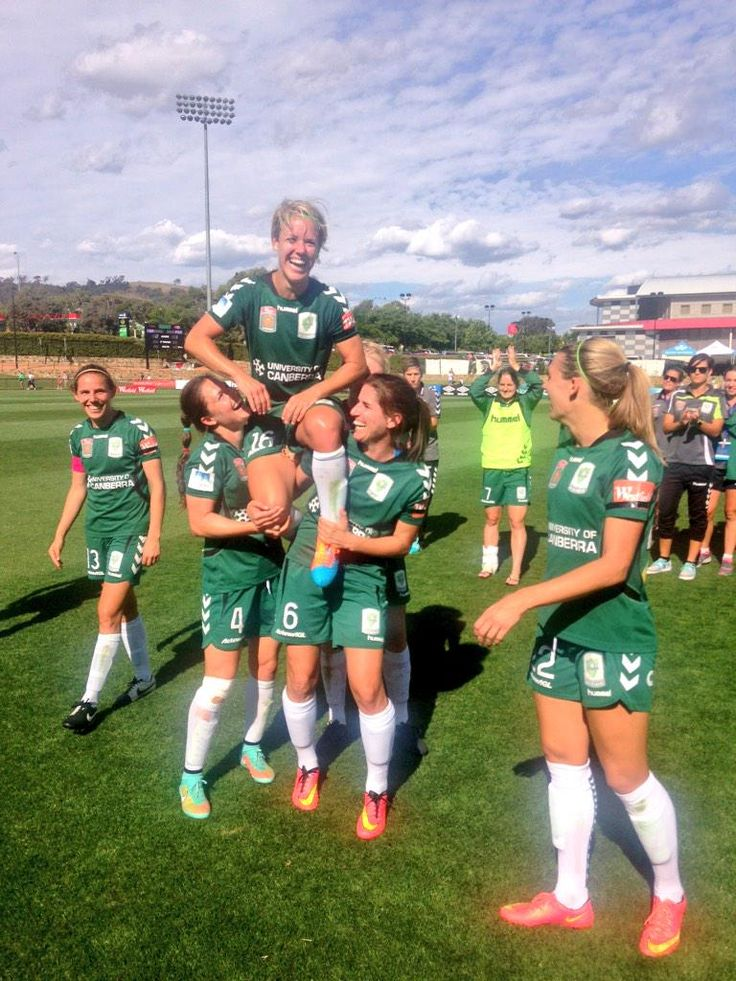 Lori's last home game. Canberra united V Perth Glory FC 2-1, 12/07/14
