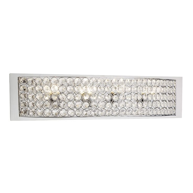 Shop Kichler Lighting 4-Light Krystal Ice Chrome Crystal Bathroom Vanity Light at Lowes.com