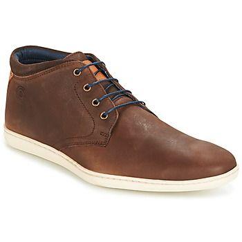 Esta zapatilla alta de la marca Casual Attitude combina diseño y comodidad. Su corte en piel y su color marrón le otorgan una aire deportivo casual. El modelo  Turen está forrado en cuero, y tiene una suela de caucho. Un modelo 100% urbano.  - Color : Marrón - Zapatos Hombre 60,00 €