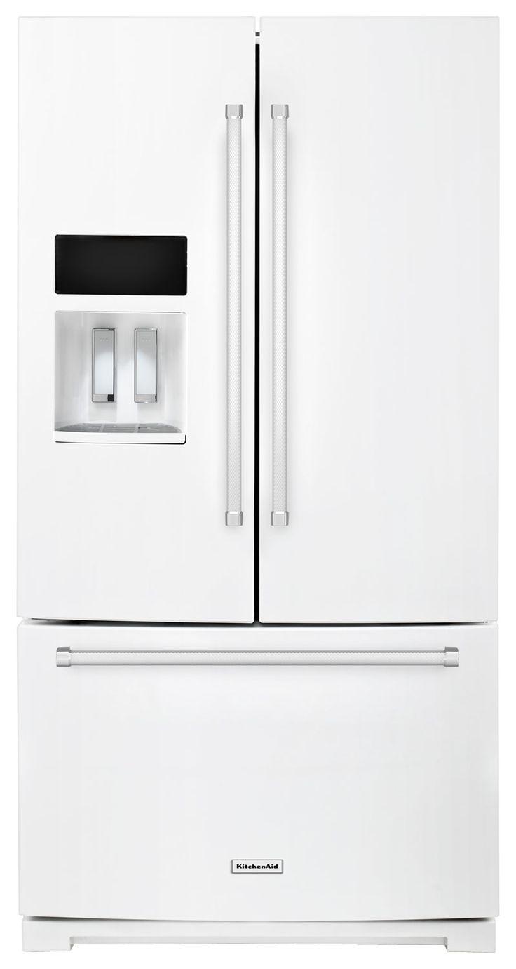 Best 25 french door refrigerator ideas on pinterest built in ft french door refrigerator white rubansaba