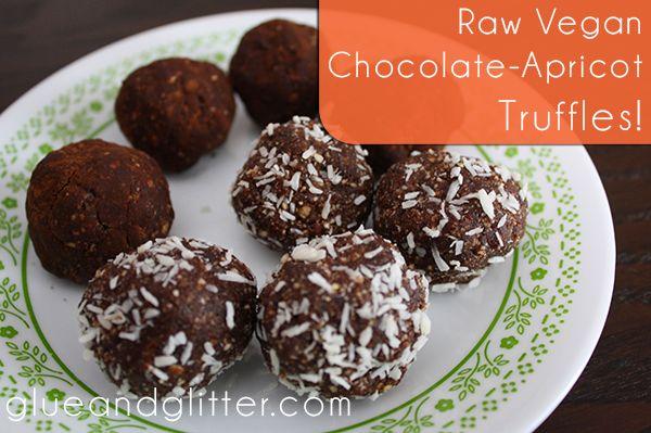 raw vegan truffles no dates