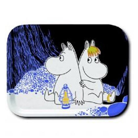 Moomin Dining 27x20cm Moomin Night Tray