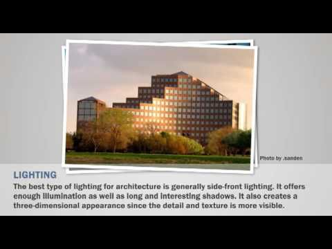 Architecture Photography Settings