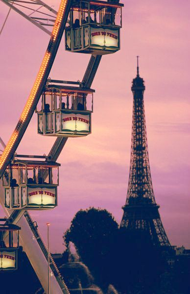 Travel Tips for Paris - Only in Paris can you get this ....Ferris wheel with a spectacular view #paris #travel
