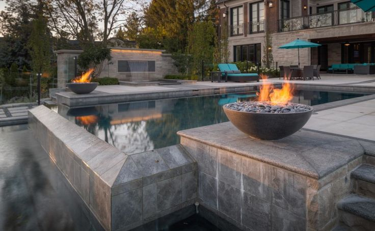 Best Miso Modern Concrete Fire Bowl Images On Pinterest - Concrete outdoor fireplace river rock fire bowl from restoration hardware