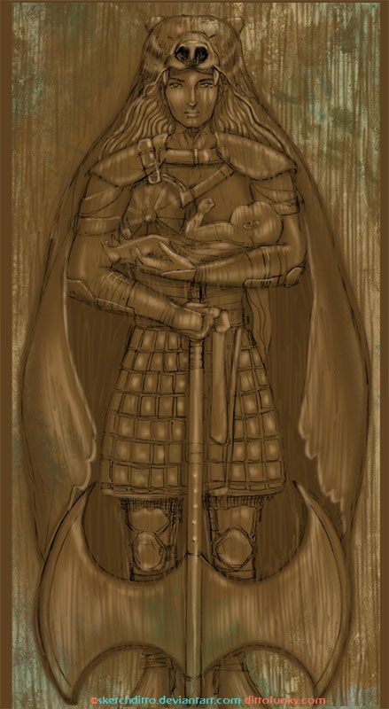 Lady Mormont Gate by sketchditto.deviantart.com on @DeviantArt