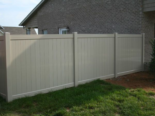 plastic wood fence panel sale in