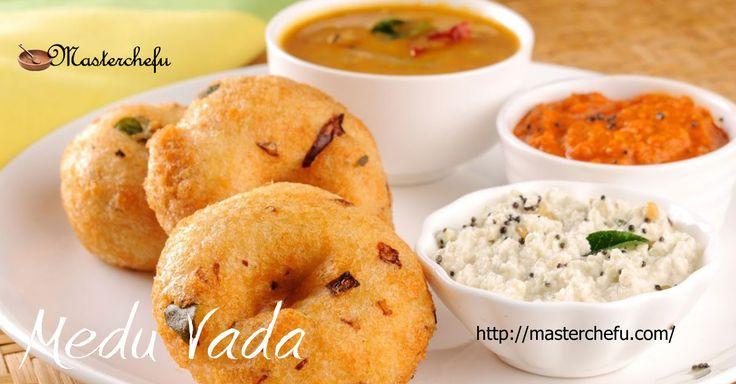 Medhu Vada recipe or garelu are trendy Indian #breakfast and #snack #food. Learn to make best #Medhuvadarecipe with step by step http://masterchefu.com/medhu-vada-recipe-tamil-nadu-cuisine/ #indianfoodrecipes #indiancuisine #vegrecipes