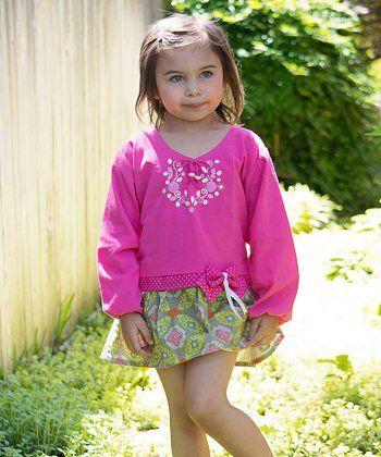 Pink Rebecca Dress - Infant, Toddler & Girls