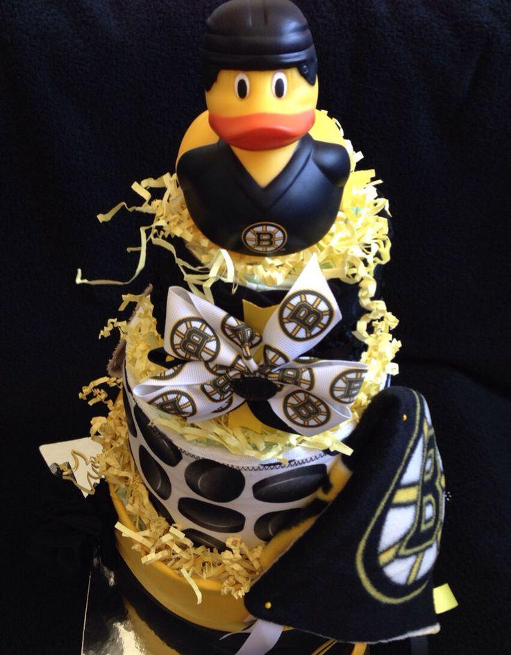 Boston Bruins Cake Pops