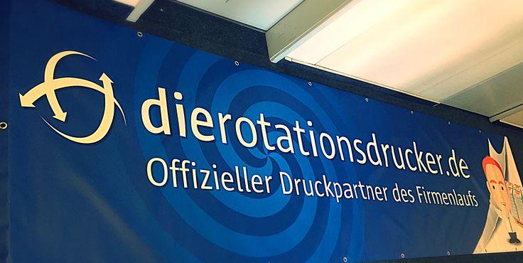 """Unser neues """"Offline-Banner"""" welches bei den Firmenläufen in Leipzig, Chemnitz, Potsdam und Braunschweig zu sehen sein wird."""