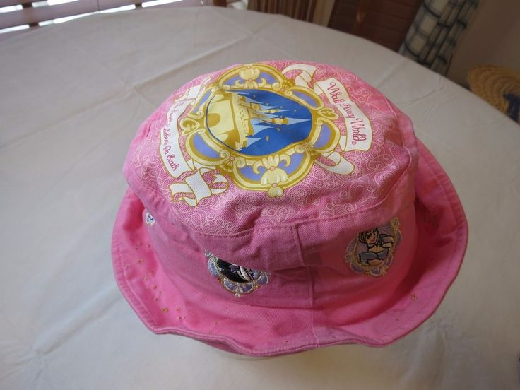 Walt Disney World Princess girls hat sun cap pink PARK youth Princesses Belle  #Disney #sunhat