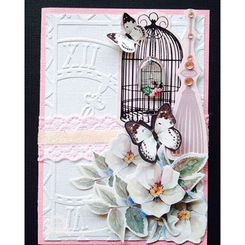 SnapWidget | Lesa Bird created this beautiful embossed card using our Ultimate Crafts Magnolia Lane collection. Pop over to our blog for Lesa's tutorial #couturecreationsaus #ultimatecrafts #magnolialane #cardmaking #embossingfolders #cre8time