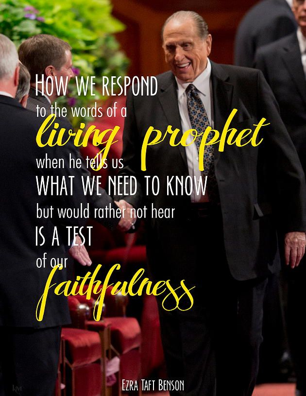 Ezra Taft Benson - February 26, 1980 BYU Devotional #lds #quotes