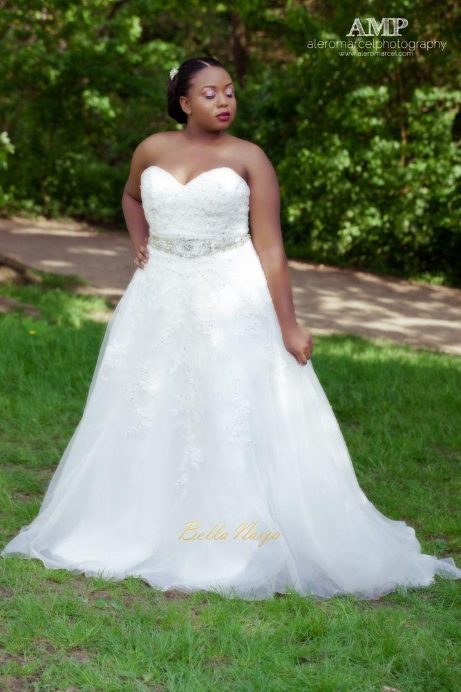 Berry Curvy Bridal Inspiration_Plus Size Black Bride_BellaNaija Weddings June 2016_Wedding shoot-30