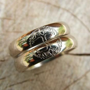 Brides Rings Handfastings Weddings:  Tree of Life #Rings.