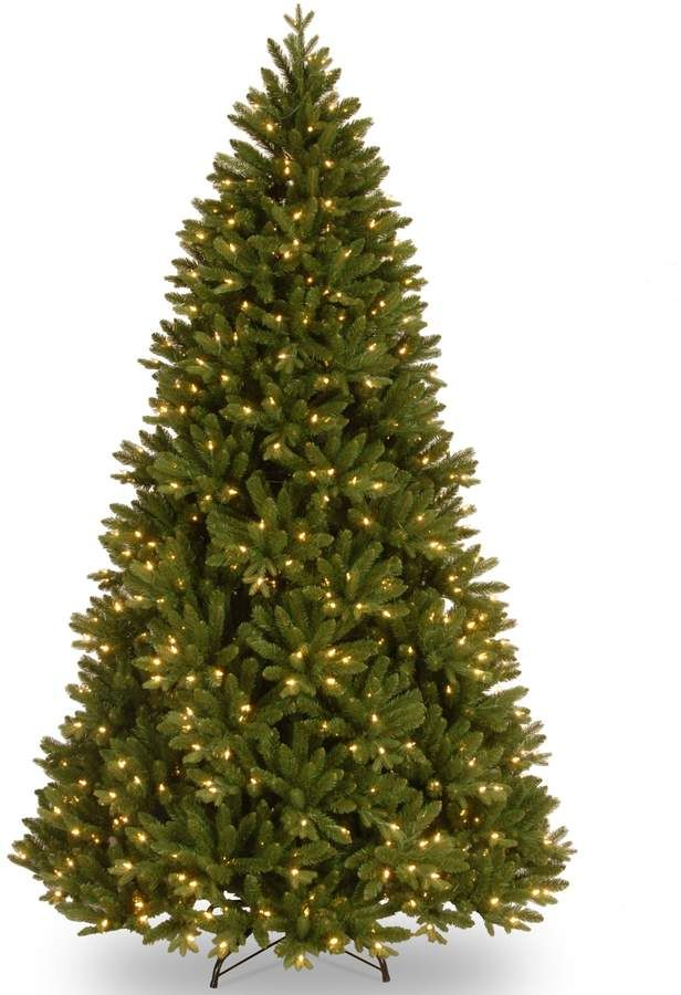 75-ft Pre-Lit \u0027\u0027Feel-Real\u0027\u0027 Scandinavian Fir Artificial Christmas