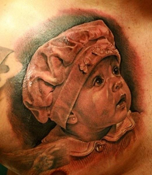Jose-Lopez-childs-portrait-black-and-gray-tattoo.jpg (522×600)
