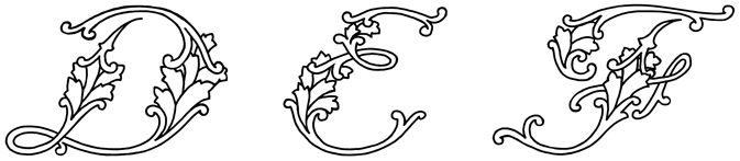 Fancy Cursive Letters :: Image 2