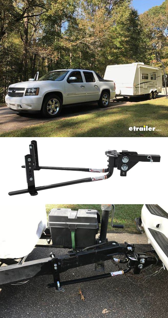 Tow your camper or trailer with more control and stability weight distribution systems evenly distribute