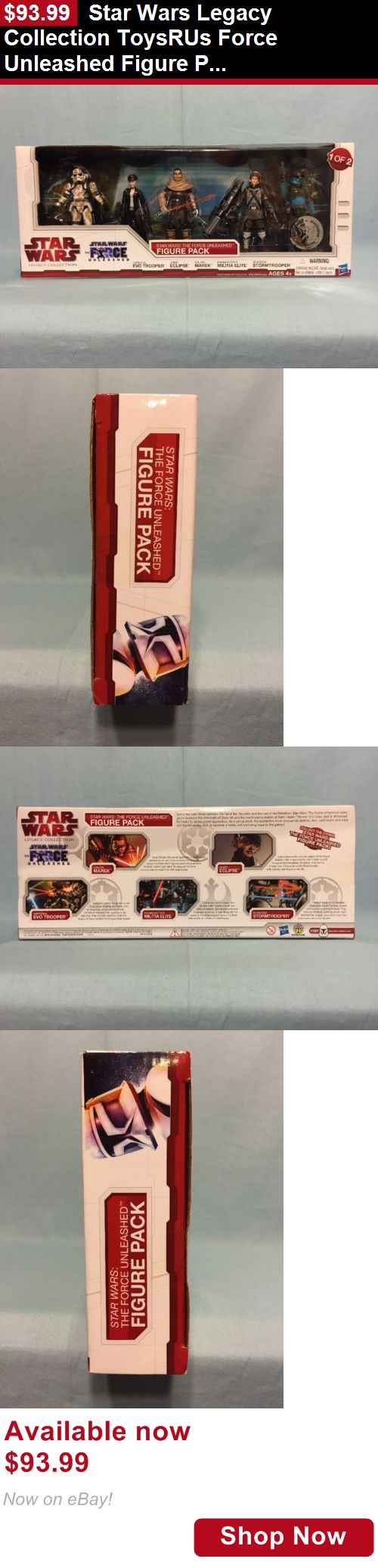 Telescope Filters: Star Wars Legacy Collection Toysrus Force Unleashed Figure Pack 1 Of 2 Misb BUY IT NOW ONLY: $93.99
