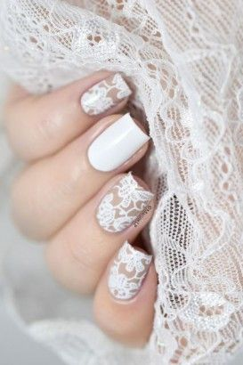 Wedding: 100 Bridal Manicures viewed on Pinterest