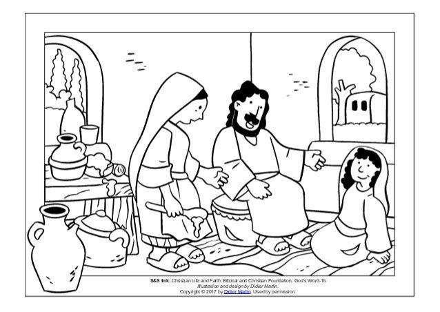 Http Www Biblekids Eu New Testament Martha And 20mary
