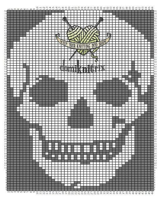 758 best C Crochet E-Skulls images on Pinterest   Day of dead, Skull ...