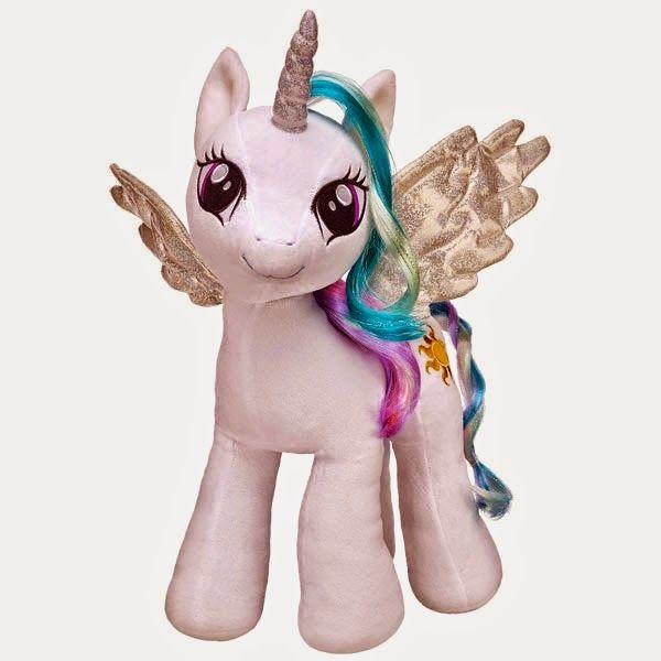 Princess Celestia Build-a-Bear Plush