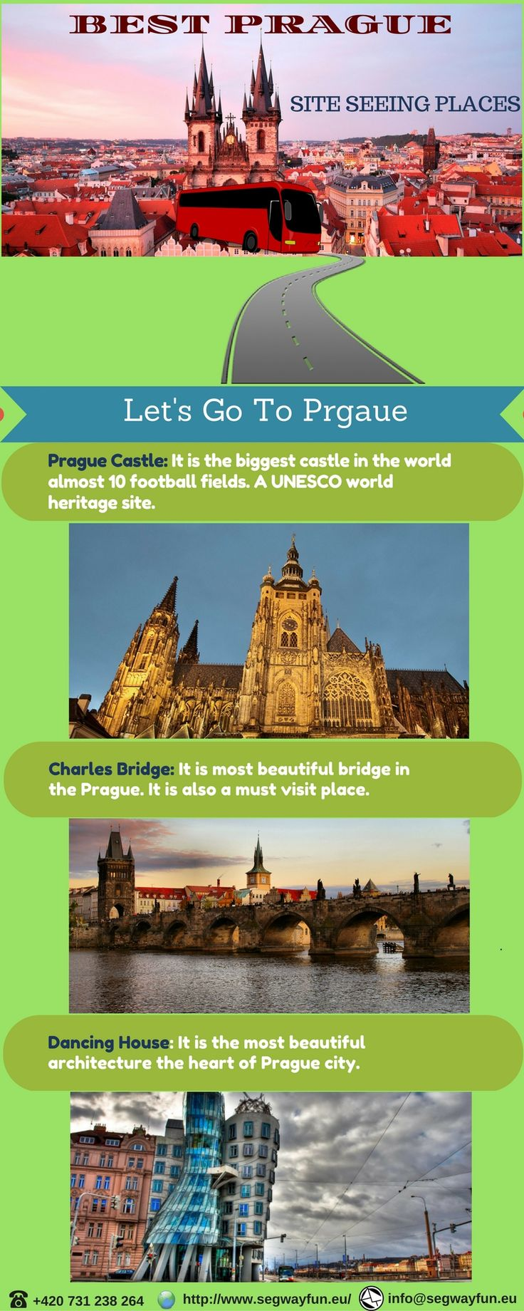 There are many #tourist #attractions in the beautiful #Prague. Here you get complete information on various tourist attractions in this architectural city.