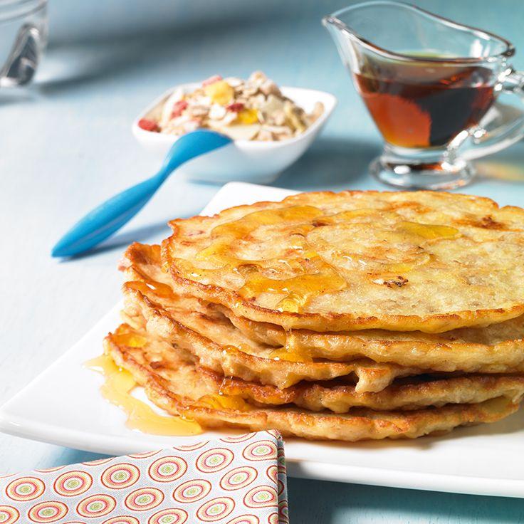 Müsli-Pancakes -  Leckere Joghurt-Müsli-Pfannkuchen für das Frühstück