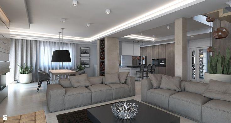 Lampa nad stołem http://lafaktoria.pl/produkty/producenci/fontana-arte/amax-sufitowa A2 STUDIO pracownia architektury