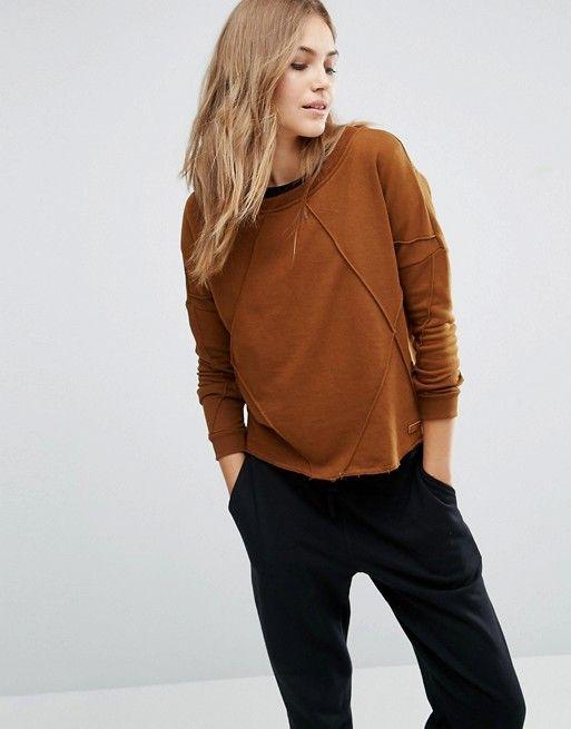 Vero Moda | Vero Moda Seam Detail Slouchy Sweatshirt