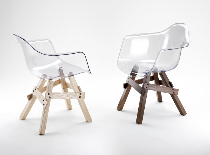 mchant design chairs to hege in france - Chaise Transparente Pied Bois