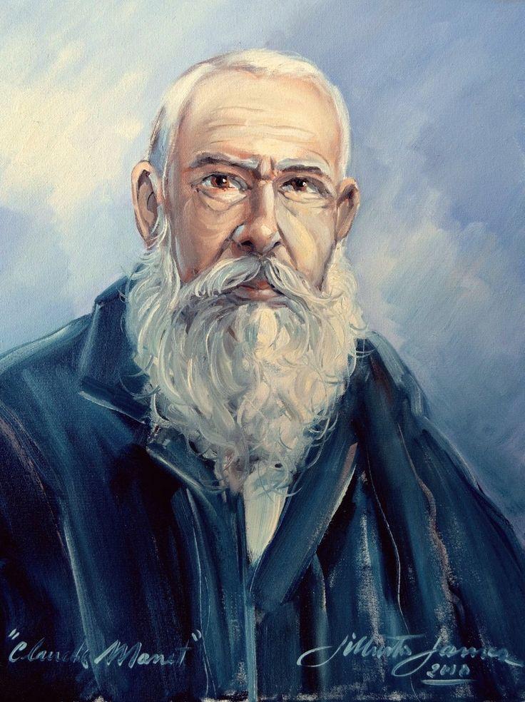 Retrato de Claude Monet - 2012 OST - 50x40