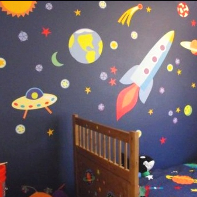 Boys Space Room 57 best baby's outer space nursery images on pinterest | nursery