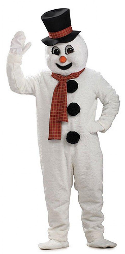 Frosty Mascot Christmas Costume