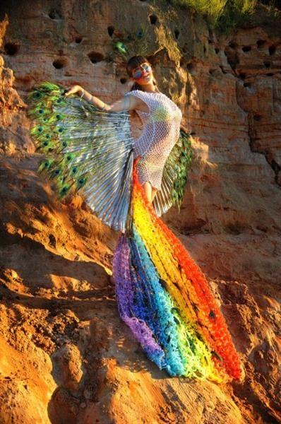 Костюм райские птицы