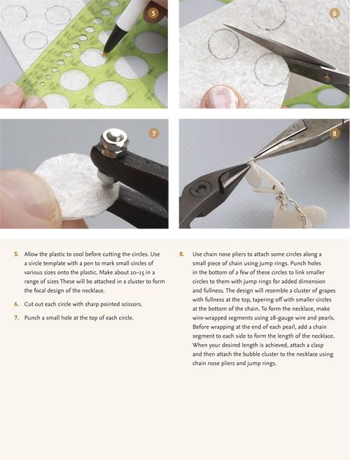 Recycled Bubble Wrap Beads