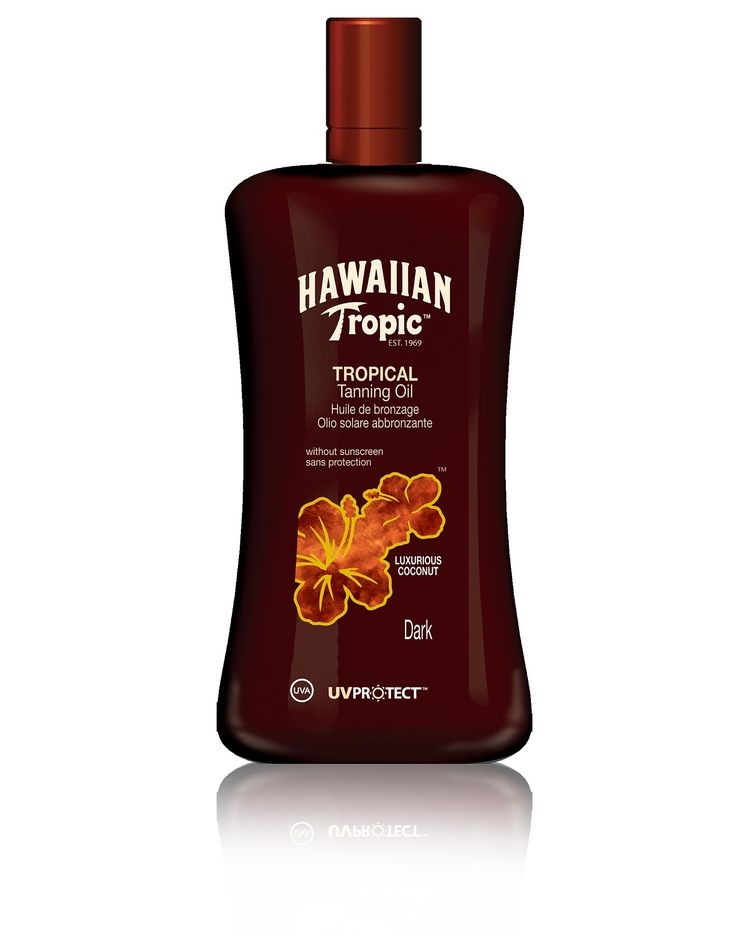 Coconut Tanning Oil - Hawaiian Tropic- i just LOVE this smell...ahhh...sigh...hurry up Summer!