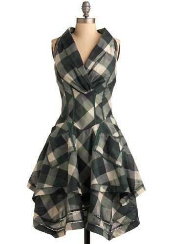 Usually I'm not a big plaid fan, but I like this.