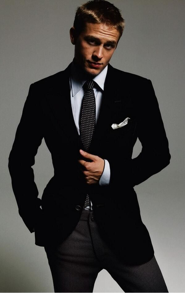 Charlie Hunnam  - now this is more Christian like!
