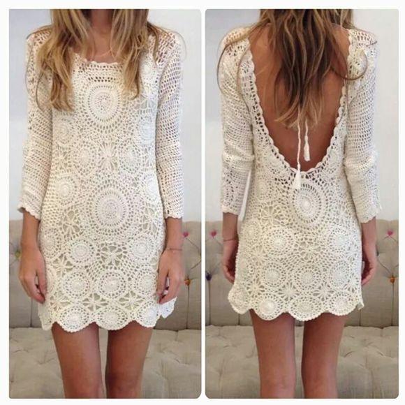 Vestido encaje hermoso