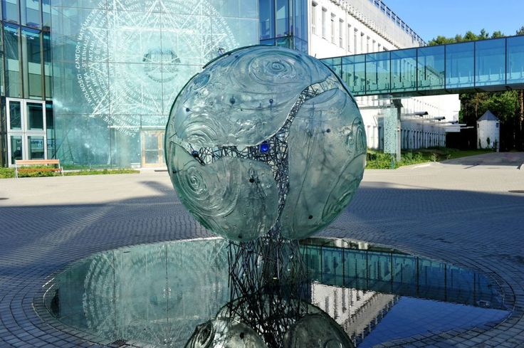 The Big Bang at Bialystok University Campus, Bialystok, Poland by Archiglass, Tomasz Urbanowicz