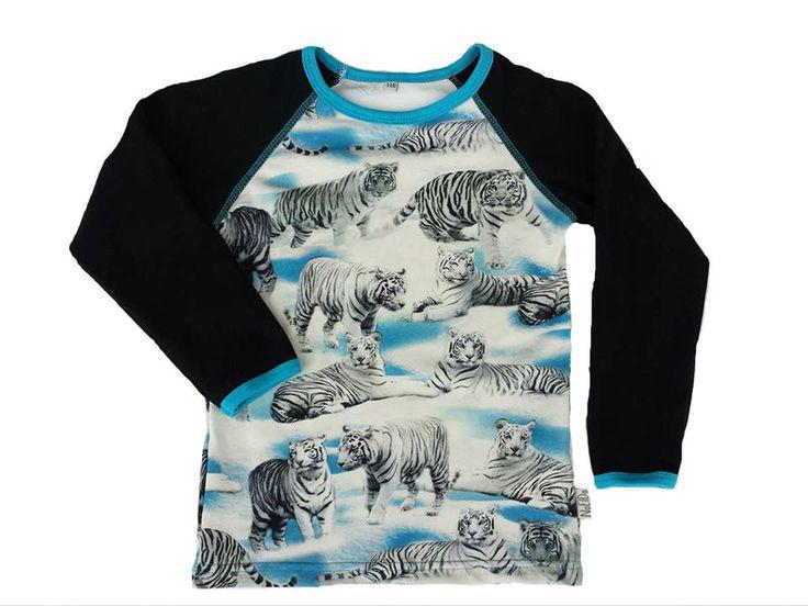 Långärmad tröja Vita Tigrar