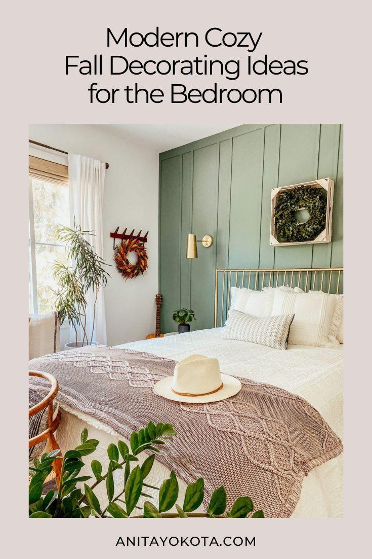 Make Your Home Fall Ready With Bed Bath Beyond Anita Yokota Beautiful Bedroom Decor Fall Home Decor Modern Fall Decor