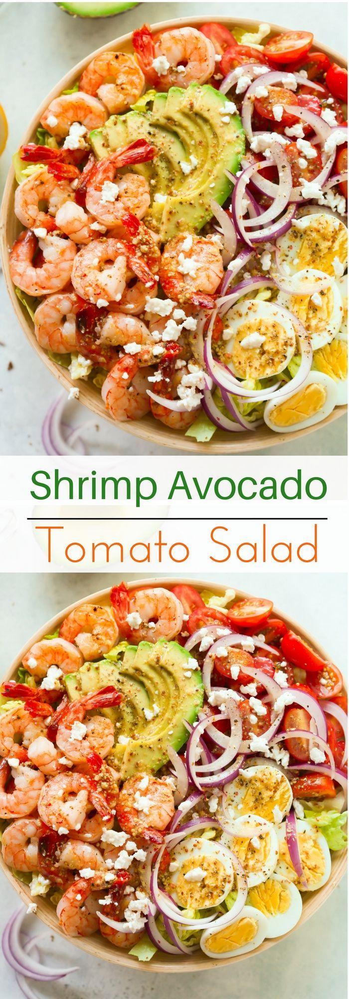 Shrimp Avocado Tomato Salad – Brenda Dauncey