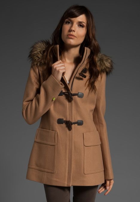 love: Faux Fur, Toggl Coats, Colette Toggl, Style Stealing, Real Fur, Coats Check, Colette Coats, Trench Coats, Fur Trim