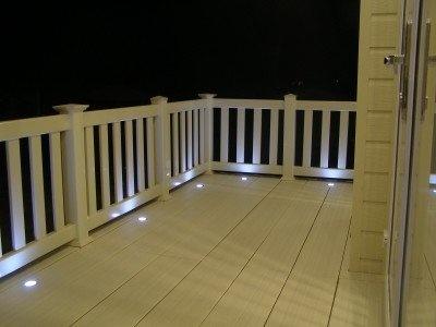 Deck lights under railings!!